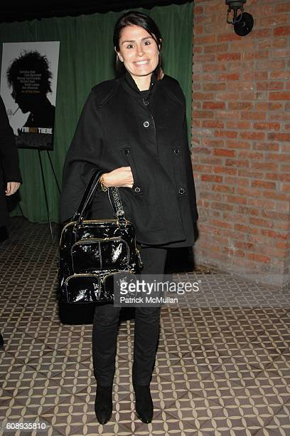 Florinka Pesenti attends THE CINEMA SOCIETY and HOGAN host the after party for I'M NOT THERE at Bowery Hotel on November 13 2007 in New York City