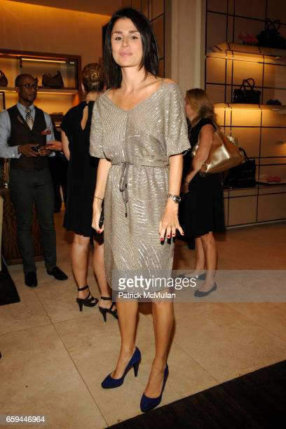 Florinka Pesenti attends TOD's ITALIAN TOUCH NYC Launch Hosted by VANITY FAIR at TOD's 650 Madison Ave on September 22 2009 in New York