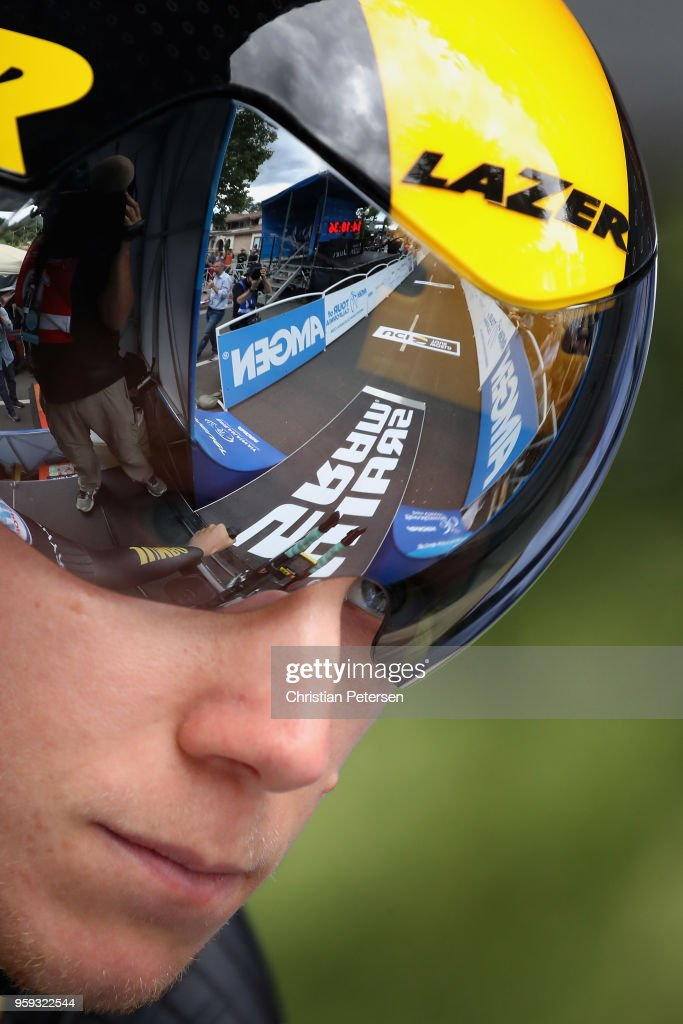 Floris De Tier of Belgium riding for Team LottoNL - Jumbo prepares to start during stage four of the 13th Amgen Tour of California 2018 San Jose / Morgan Hill a 34.7 km Individual Time Trial on May 16, 2018 in Morgan Hill, California.