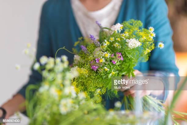 Florist at the shop