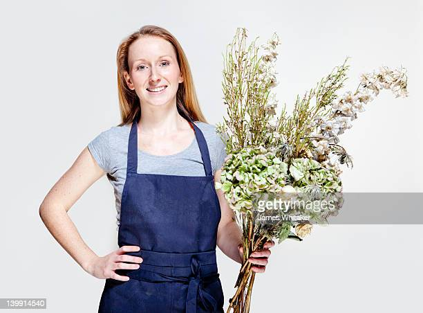florist - erin james stock-fotos und bilder