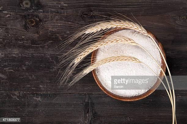 小麦粉、小麦耳付き