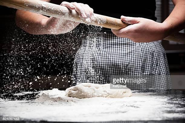 Flour falling off rolling pin