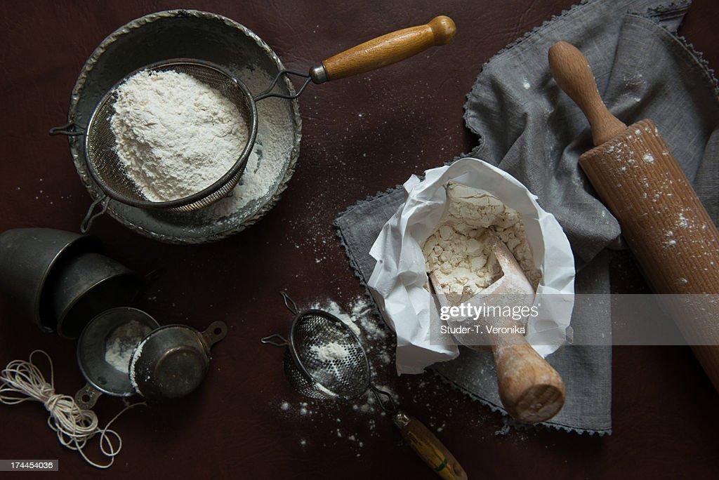 Flour : Stock-Foto