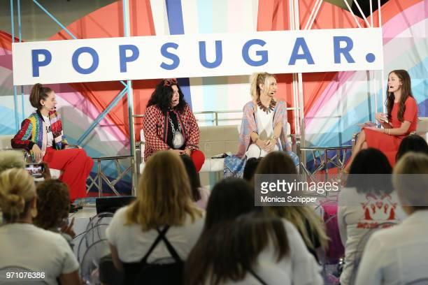 Flour Shop founder Amirah Kassem artist Ashley Longshore skincare expert Jamie Sherrill and POPSUGAR Senior Editor of Trending and Viral Features...