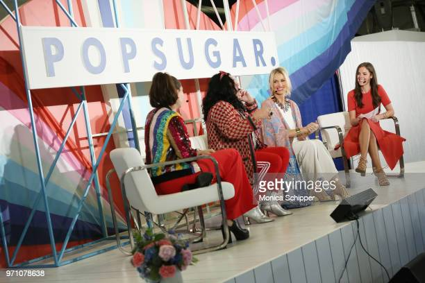 Flour Shop founder Amirah Kassem artist Ashley Longshore skincare expert Jamie Sherrill and POPSUGAR Senior Editor of Trending and Viral Features...