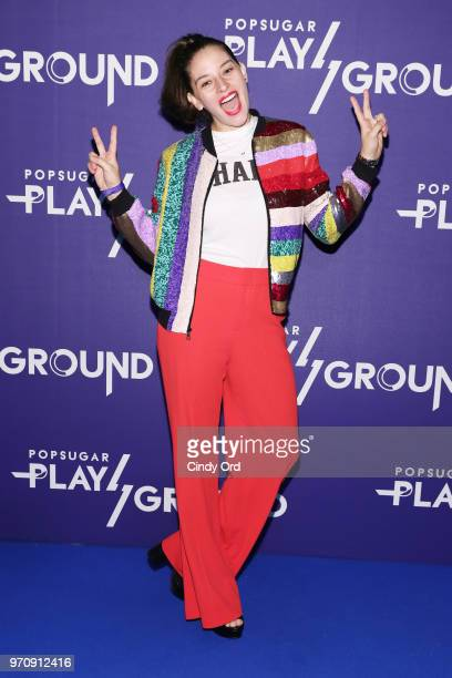 Flour Shop founder Amirah Kassem attends day 2 of POPSUGAR Play/Ground on June 10 2018 in New York City