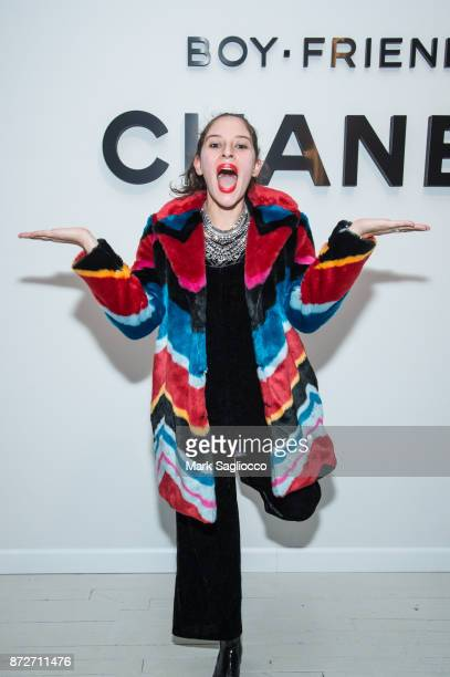 Flour Shop Founder Amirah Kassem attends the CHANEL celebration of the launch of The Coco Club at The Wing Soho on November 10 2017 in New York City