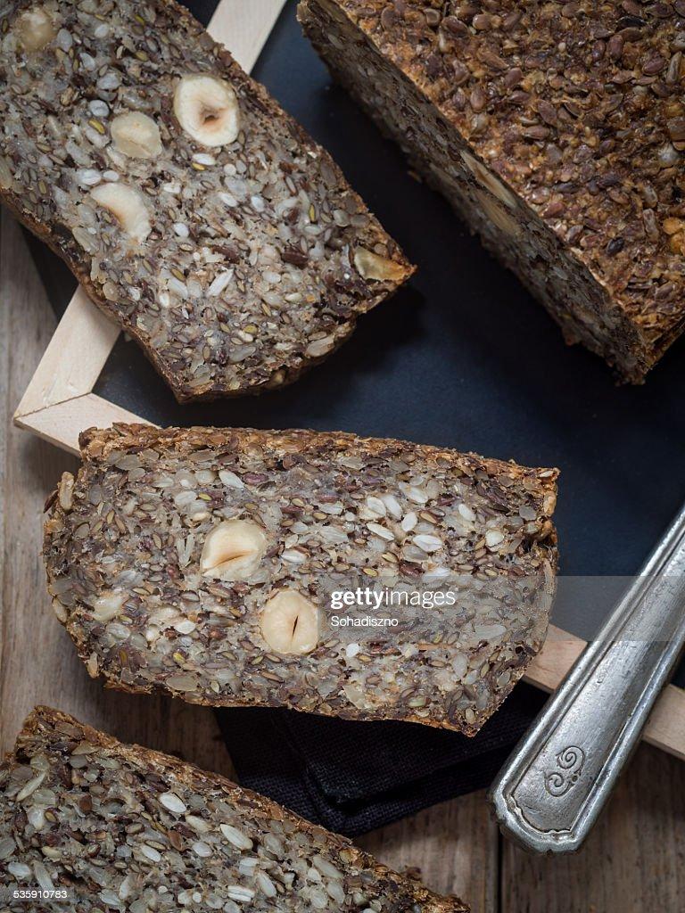 Flourless bread : Stock Photo