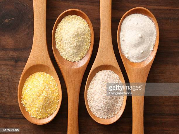 Flours and spoons