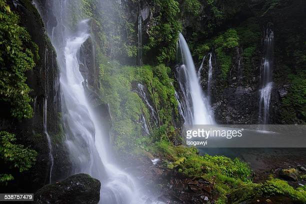 flow of waterfalls - isogawyi bildbanksfoton och bilder
