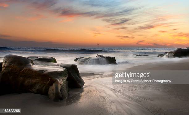 flow over the chevy - windansea - la jolla stock pictures, royalty-free photos & images