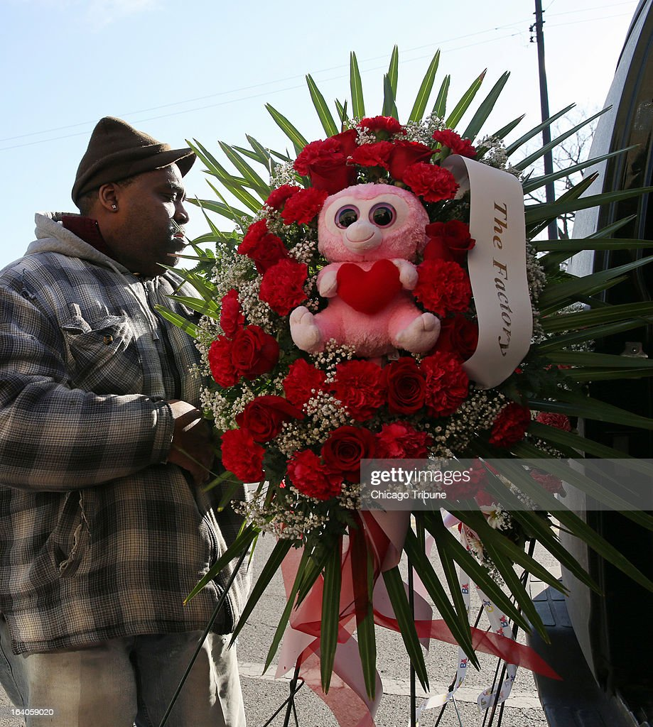 Funeral Services For Baby Jonylah Pictures Getty Images
