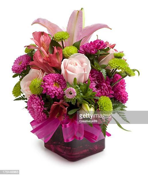 flower arrangement - vase stock pictures, royalty-free photos & images