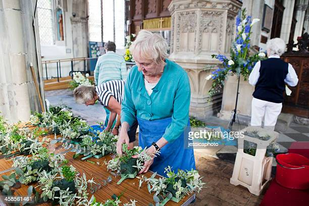 3 740 Church Floral Arrangements Photos And Premium High Res Pictures Getty Images