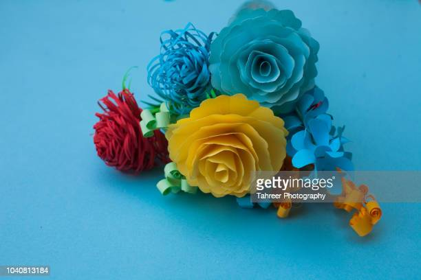 Flower bouquet origami