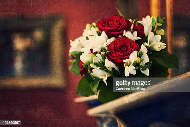 flower bouquet - catherine macbride stock pictures, royalty-free photos & images