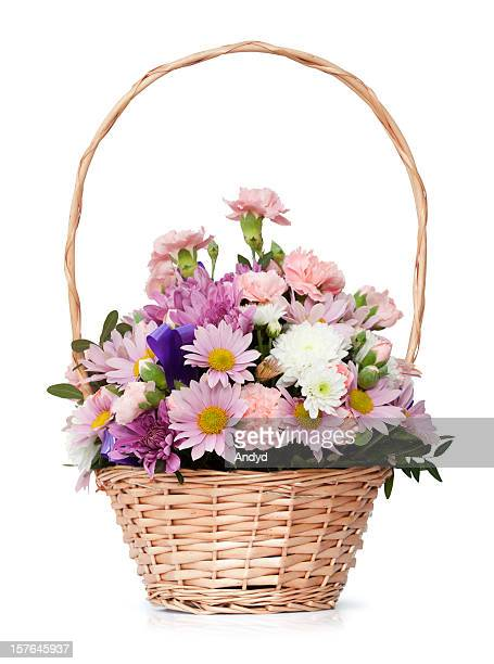 flower bouquet - hanging basket stock pictures, royalty-free photos & images