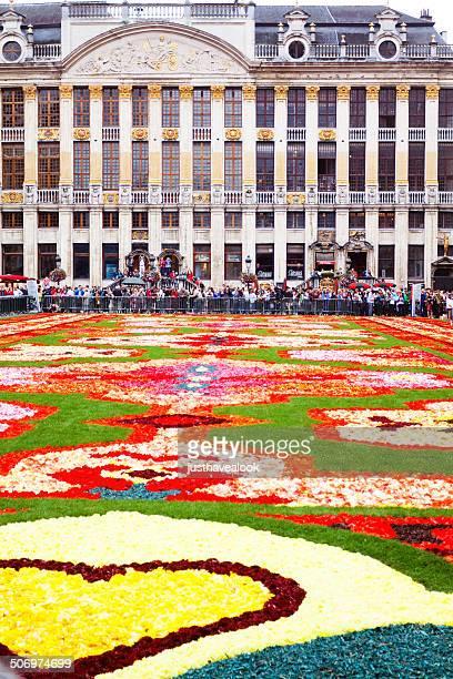 Flower carpet and Maison des Ducs des Brabants