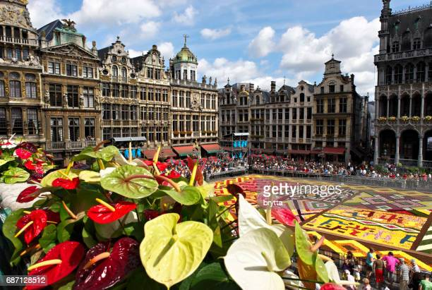 Flower Carpet at Brussels Grand Place, Belgium