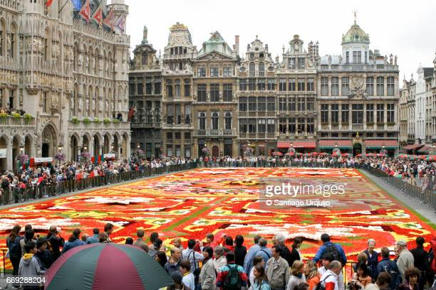 Flower carpet in Grand Place