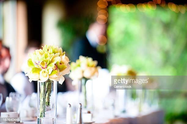 Fleurs pour un mariage