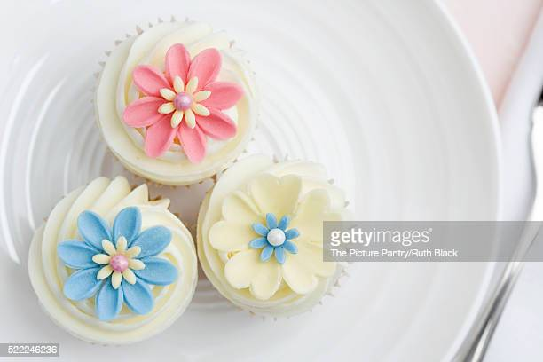 Flower cupcakes