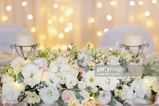Flower Decorations During Wedding Ceremony