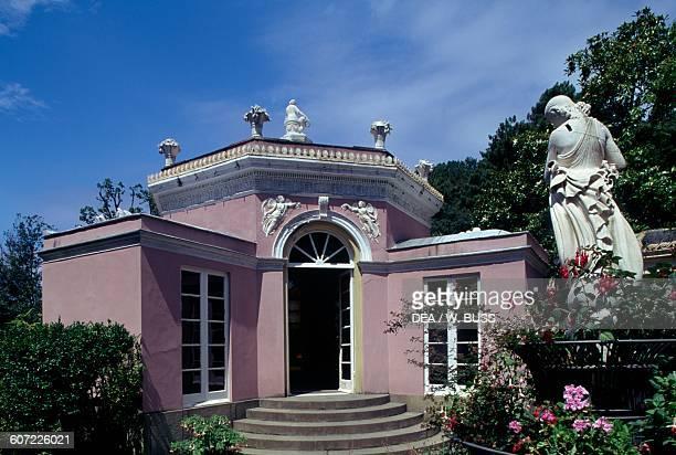 Flower House Park of Villa DurazzoPallavicini Pegli Genoa Liguria Italy 19th century