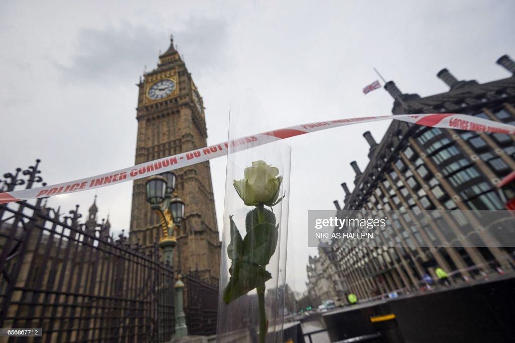 TOPSHOT-BRITAIN-POLITICS-PARLIAMENT-ATTACK : News Photo