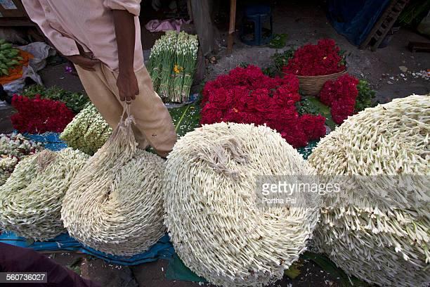 Flower Market at Mullikghat, Kolkata