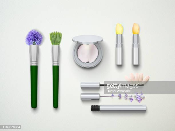 flower petal cosmetics - beauty in nature imagens e fotografias de stock