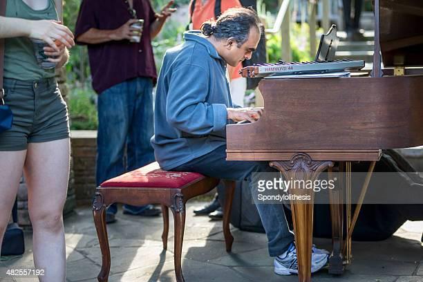 fleur piano événement dans le golden gate park, san francisco - performing arts event photos et images de collection