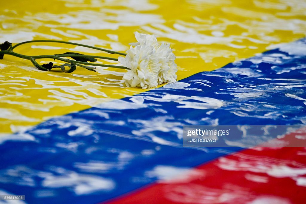 COLOMBIA-PEACE-DEMO : News Photo