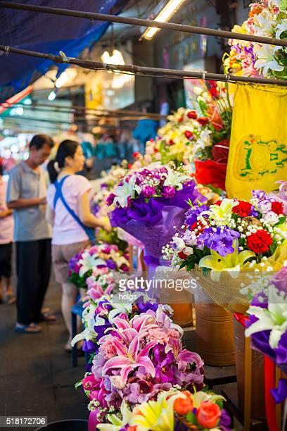 Flower Shop in Bangkok, Thailand