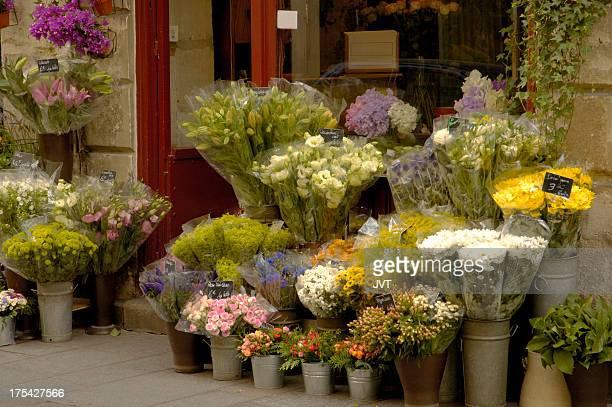 Floristería en París.