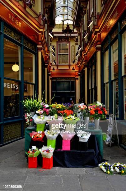 flower shop in the Leadenhall Market