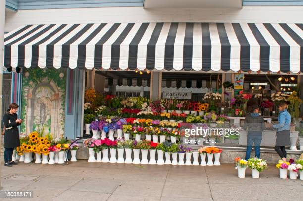 Flower shop in the Marina District.