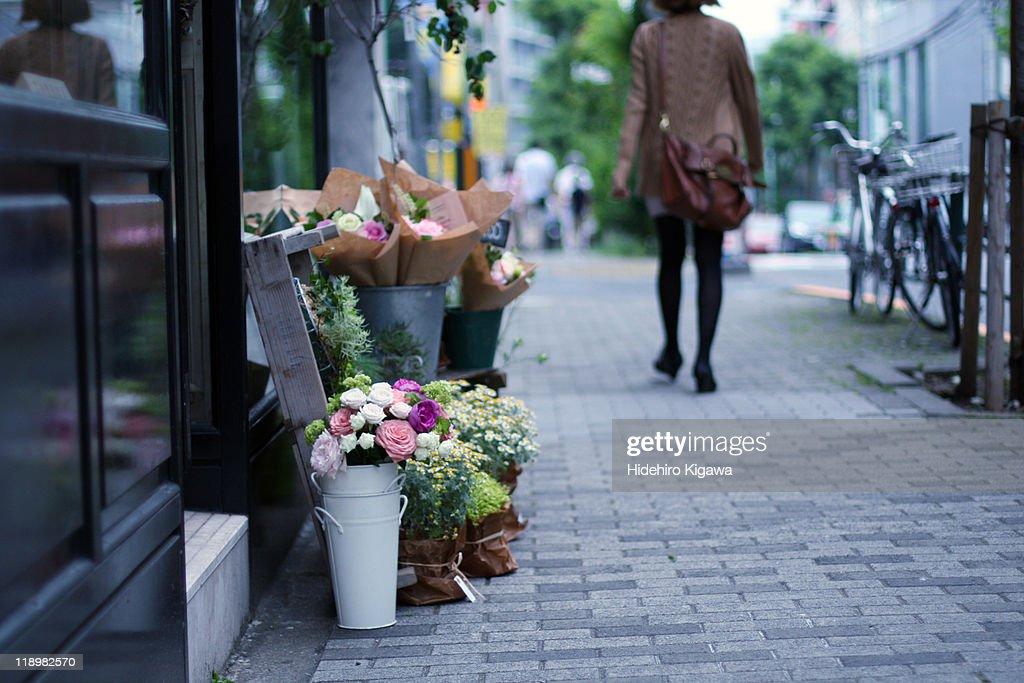 Flower shop : ストックフォト
