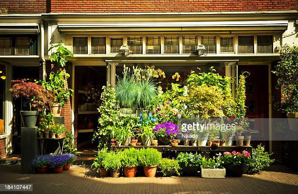 flower shop - facade stock pictures, royalty-free photos & images