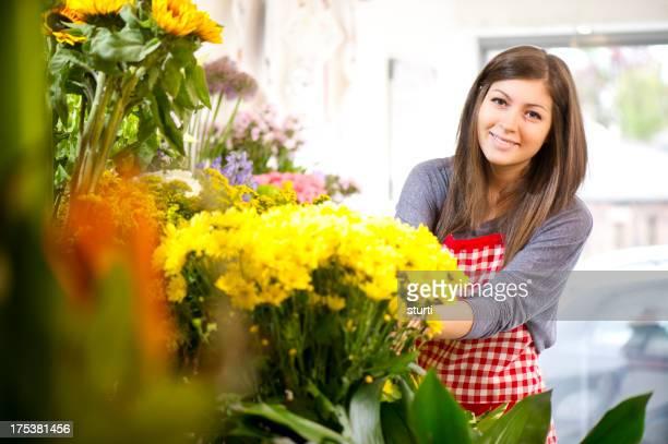 flower shop trainee