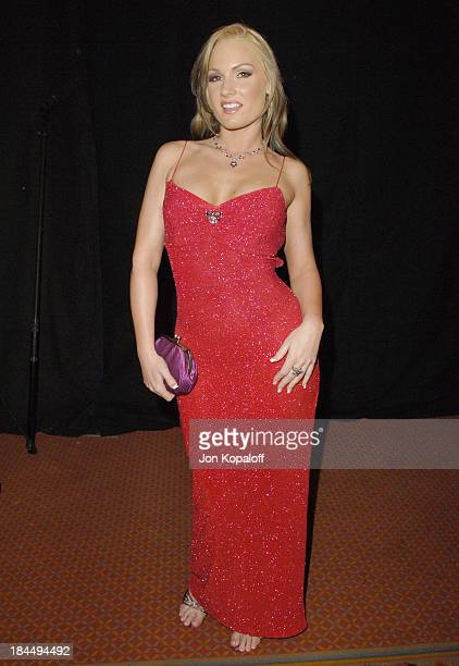 Flower Tucci during 2006 AVN Awards Arrivals and Backstage at The Venetian Hotel in Las Vegas Nevada United States