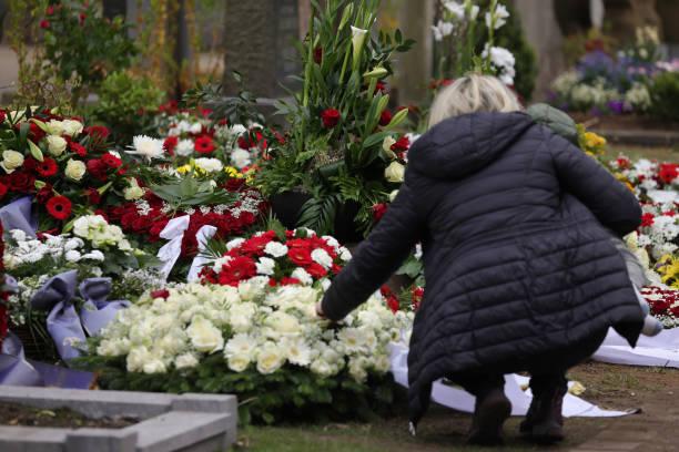 DEU: Willi Herren Memorial Service In Cologne