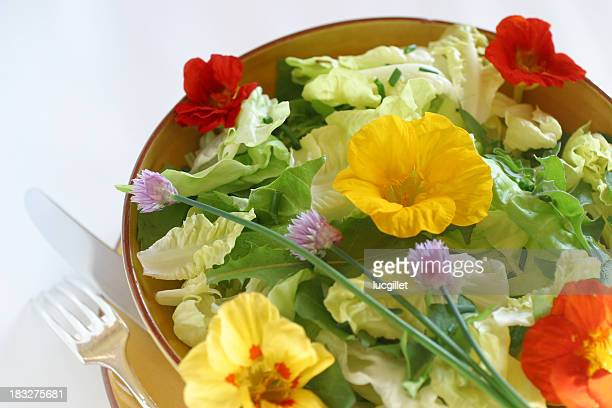 Geblümtes Salat 2