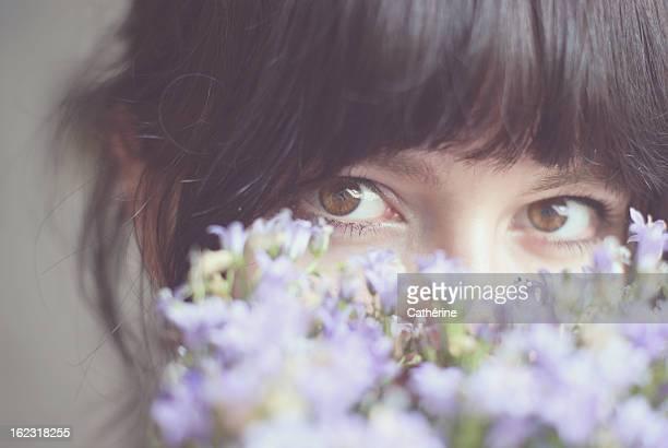 Flowergirl - Blumenmädchen- Frühlingsmädchen