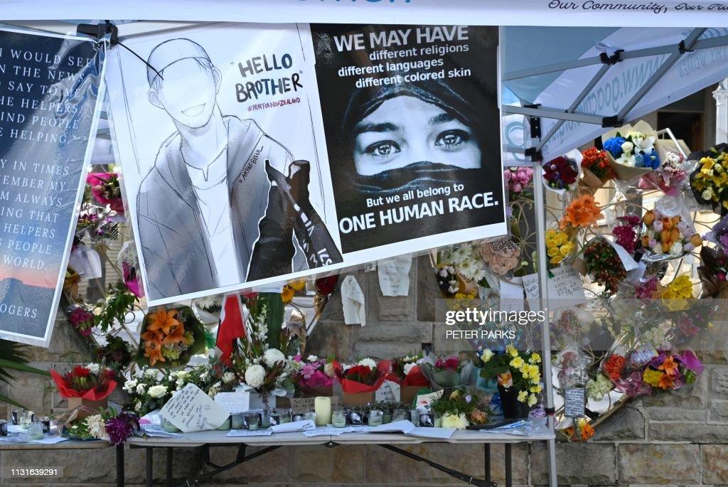 AUSTRALIA-NZEALAND-ATTACK-MOSQUE-CRIME : Foto jornalística