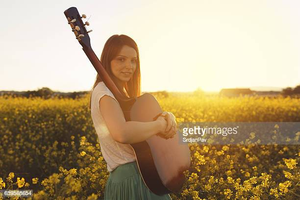 flowers and music - fabolous musician stock photos and pictures