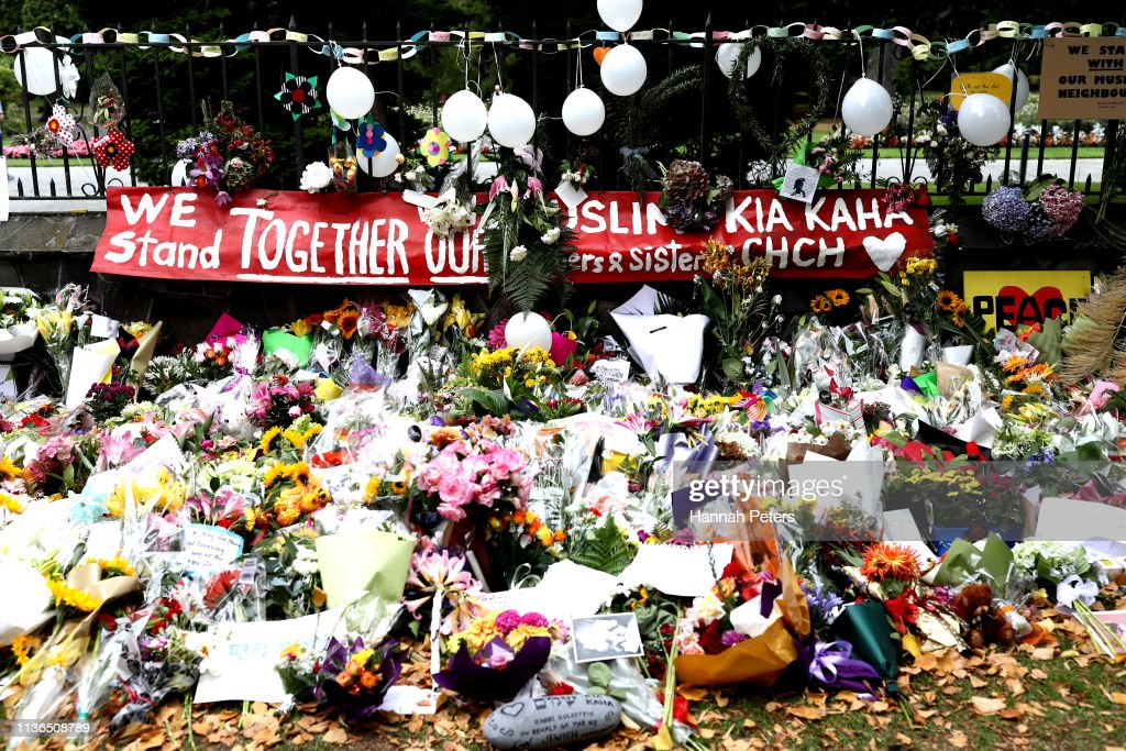 New Zealand Grieves As Victims Of Christchurch Mosque Terror Attacks Are Identified : Foto jornalística