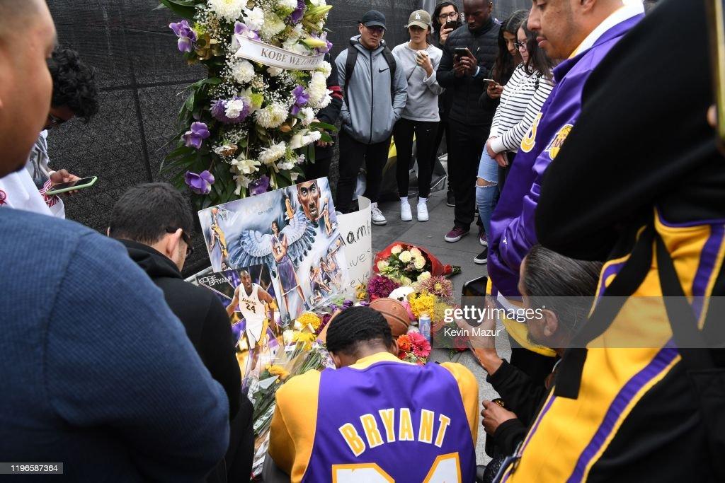 Los Angeles Remembers NBA Star Kobe Bryant : News Photo