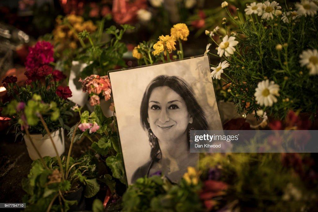 Investigation Into The Murdered Journalist Daphne Caruana Galizia : News Photo